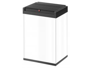 Odpadkový koš Hailo Big-Box Swing 40L bílý