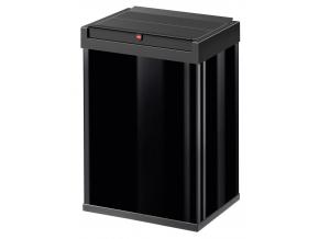 Odpadkový koš Hailo Big-Box Swing 40L černý