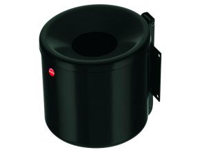 Nástěnný venkovní popelník Hailo ProfiLine easy 2,4 litru černý