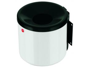 Nástěnný venkovní popelník Hailo ProfiLine easy 2,4 litru bílý