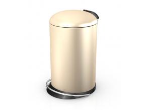 Odpadkový koš Hailo TOPdesign M 13L vanilka