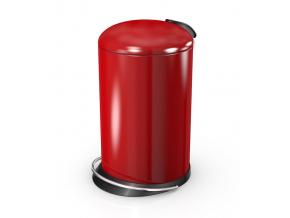 Odpadkový koš Hailo TOPdesign M 13L červený