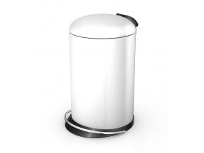 Odpadkový koš Hailo TOPdesign 16L bílý