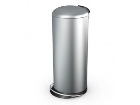 Odpadkový koš Hailo TOPdesign L 24L stříbrný