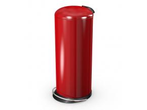 Odpadkový koš Hailo TOPdesign 26L červený