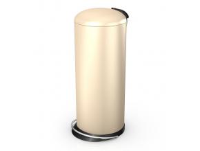 Odpadkový koš Hailo TOPdesign L 24L vanilka
