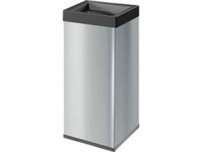 Odpadkový koš Hailo Big-Box Quick 60L stříbrný