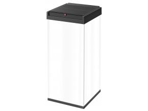 Odpadkový koš Hailo Big-Box Swing 80L bílý