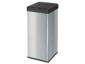 Odpadkový koš Hailo Big-Box Swing 80L stříbrný