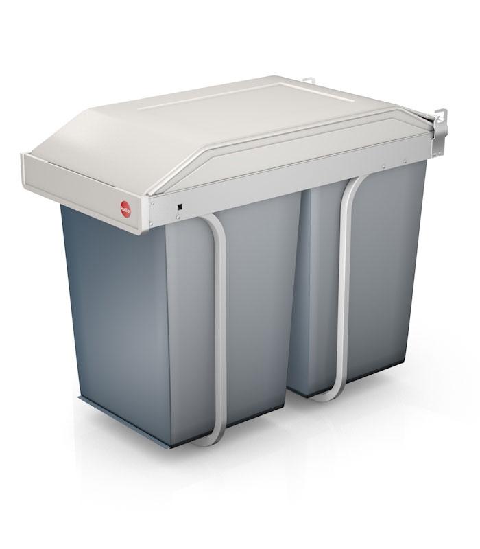 Hailo Vestavný odpadkový koš Multi-Box L 2x 14L