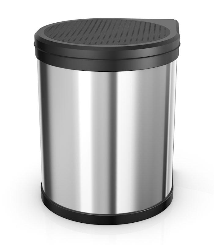 Vestavný odpadkový koš Compact 15L nerez