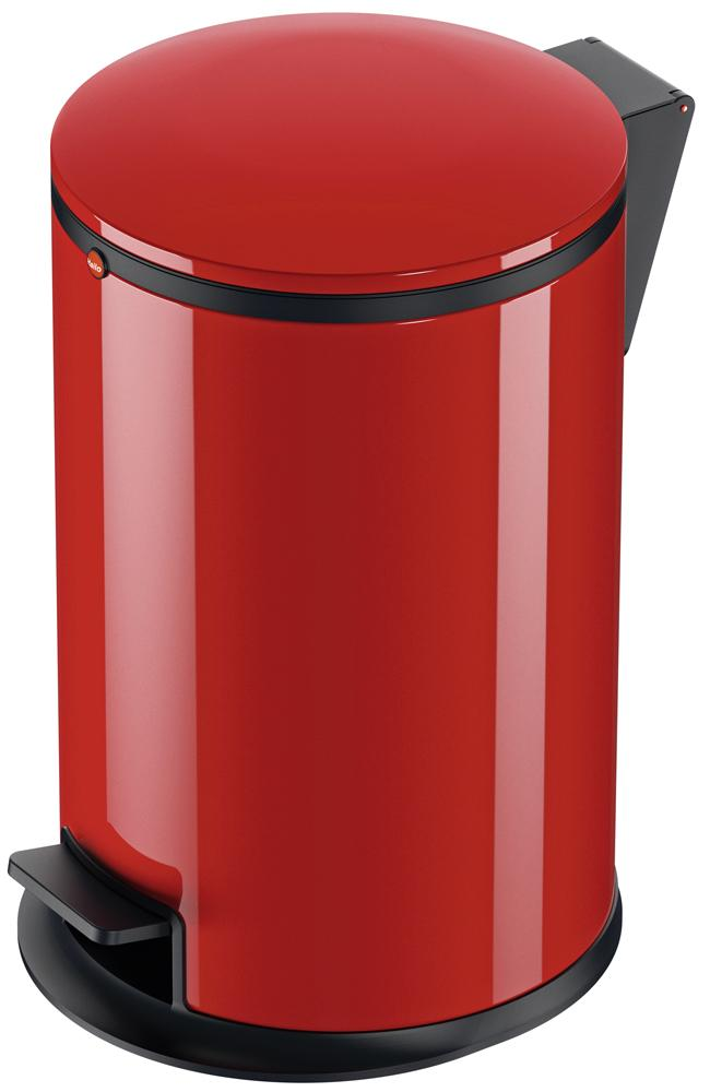 Odpadkový koš Hailo Pure M 12L červený