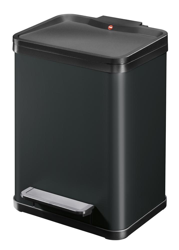 Odpadkový koš Hailo Öko uno PLUS M 17L černý