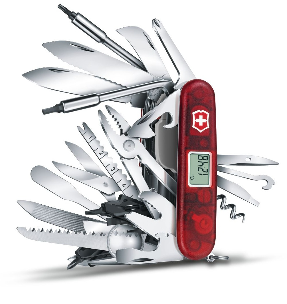 TOP model - Victorinox Swiss Champ XAVT 91 mm