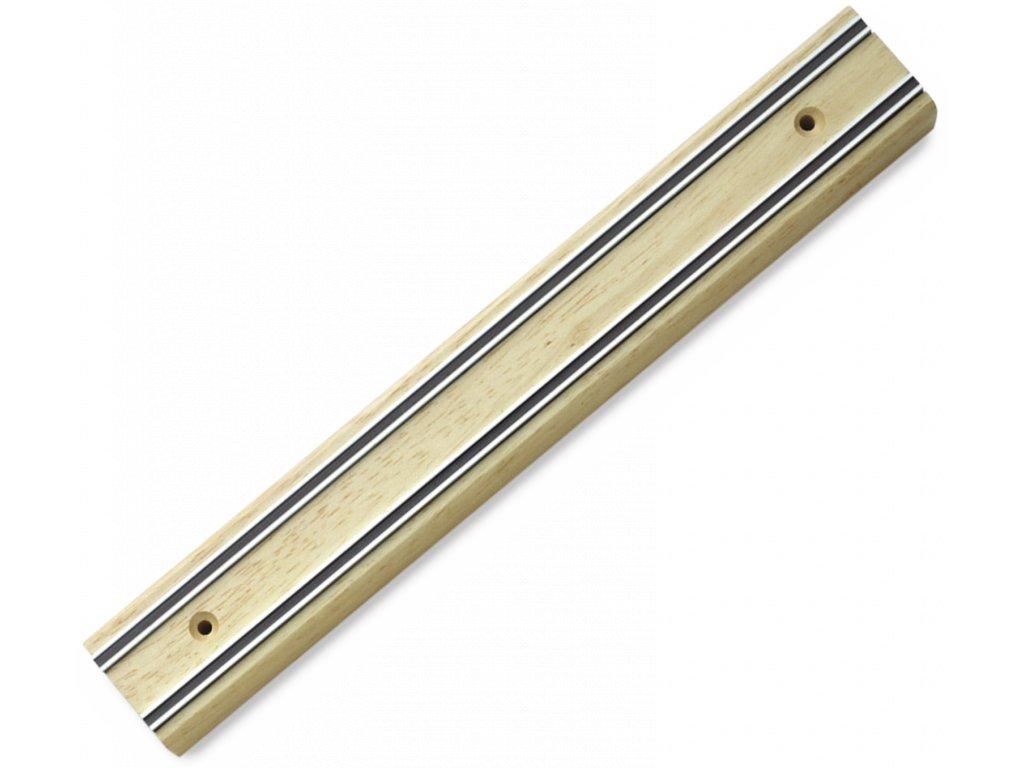 magneticka lista na kuchynske noze drevena 30 cm wusthof solingen 7223 30