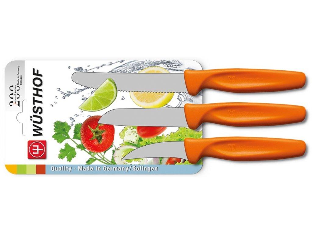 sada nozu na zeleninu 3 ks oranzova wusthof solingen 4