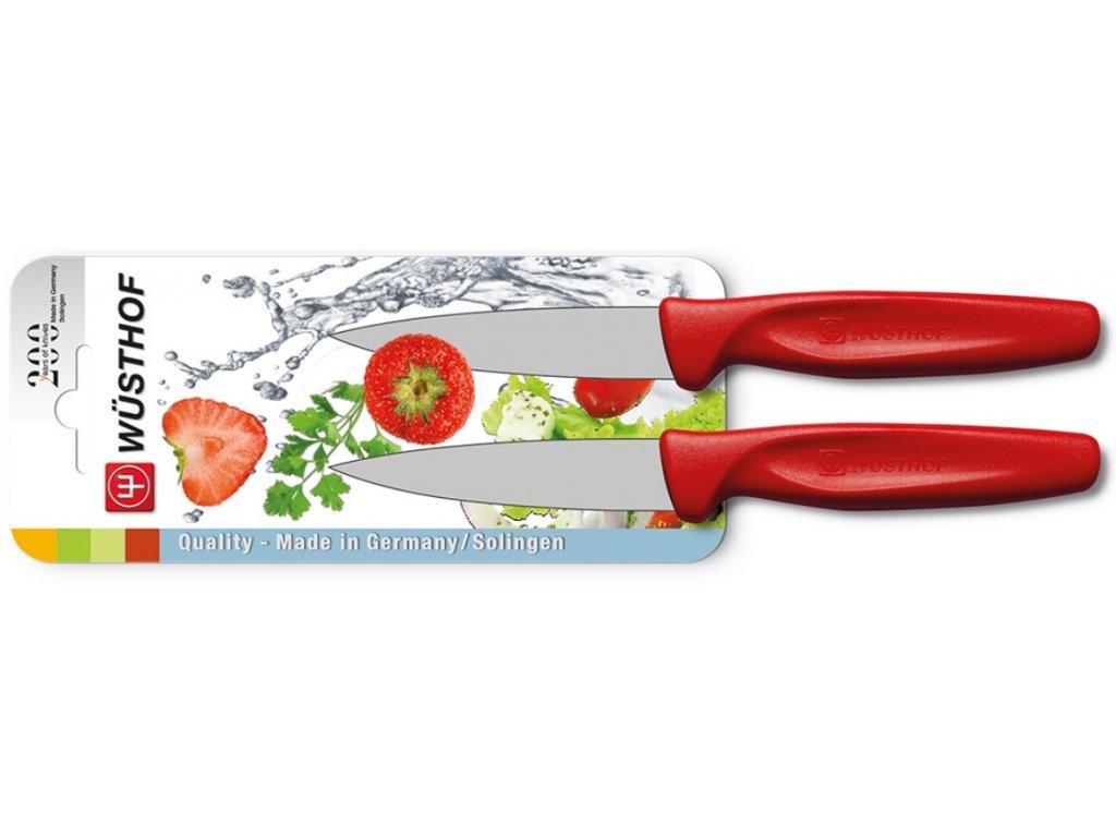 sada nozu na zeleninu 8 cm 2 ks cervena wusthof solingen