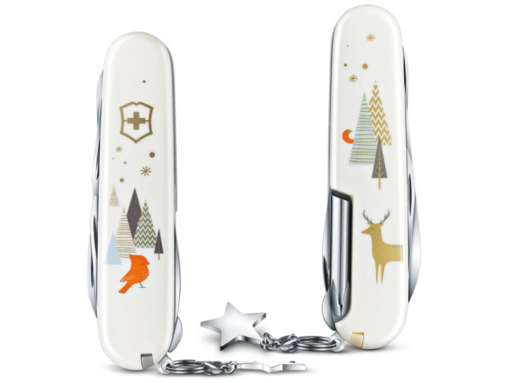 kapesni nuz vanocni limitovana edice victorinox super tinker winter magic special edition