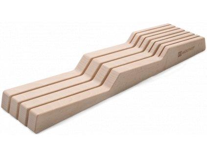 dreveny organizer do zasuvky na 7 ks nozu wusthof solingen 7270