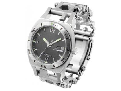 multitool svycarske hodinky leatherman tread tempo silver