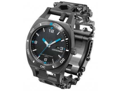 multitool svycarske hodinky leatherman tread tempo black