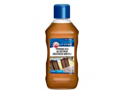 68335 prirodni olej na osetreni dreveneho nabytku b clean 500ml s vitaminem e