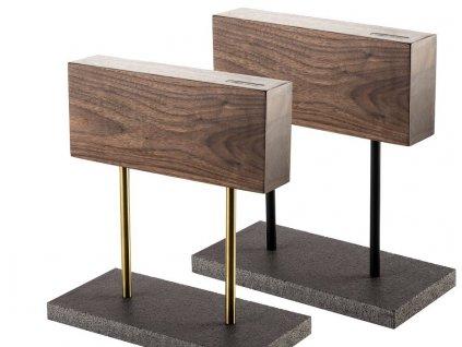 SDV 624771 magneticky stojan noze s kamennym podstavcem orechove drevo style de vie kvalitni noze 78