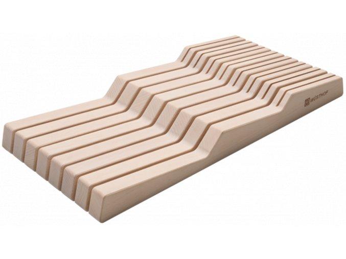 dreveny organizer do zasuvky na 15 ks nozu wusthof solingen 7271