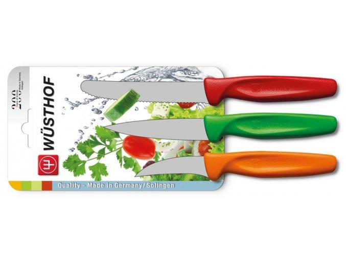 sada nozu na zeleninu 3 ks barevna wusthof solingen