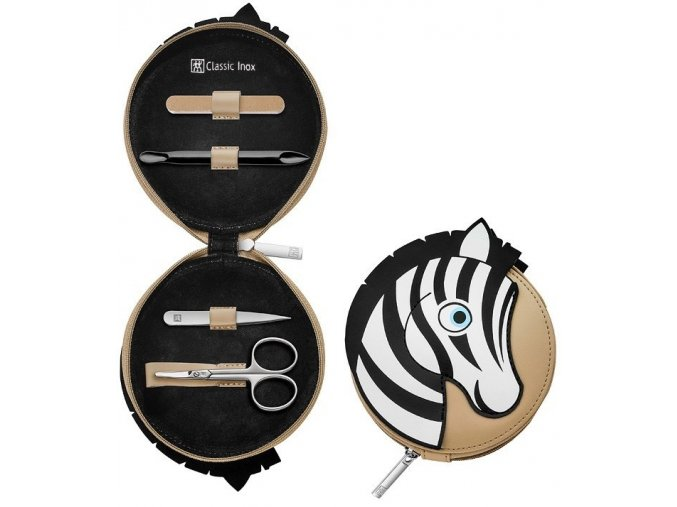 4dilna manikura pro deti detska classic inox zwilling solingen zebra 97643 001