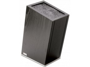cerny blok stojan na kuchynske noze z jasanoveho dreva wusthof solingen 7278 1
