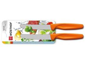 sada univerzalnich kuchynskych nozu 10 cm 2 ks oranzova wusthof solingen