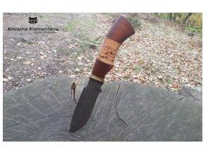 nuz z damascenske oceli ancar mahagon briza