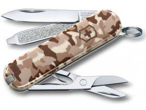 kapesni nuz victorinox classic sd 58 mm desert camouflage