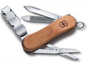 kapesni mini nuz klicenka victorinox nail clip wood 580 65 mm