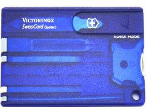 swisscard victorinox quattro modra