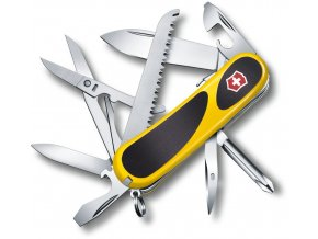 kapesni nuz victorinox evolution grip s18 85 mm zluty