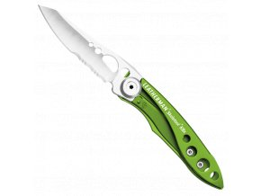 kapesni nuz leatherman skeletool kbx green zeleny