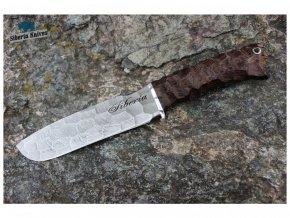 lovecky damaskovy muz damascensky siberia knives horal wenge
