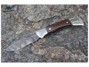 zaviraci lovecky damaskovy nuz damascensky siberia knives skaut wenge 1