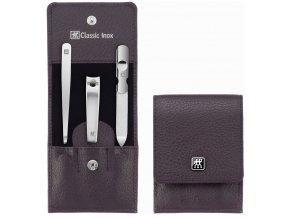 3dilna manikura luxusni classic inox zwilling solingen fialova purple 97644 008