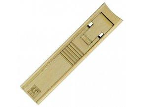 kvalitni stipky klesticky cvikatko na nehty twinox gold edition zlate zwilling solingen 42498 101