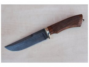 rucne kovany rusky lovecky nuz z damaskove oceli damascensky makarov siberia knives