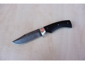 lovecky rusky nuz z damascenske damaskove oceli tremp siberia knives sib043