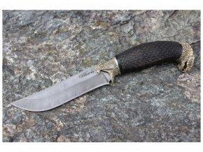 lovecky rusky damaskovy nuz z damascenske oceli kobra 2 siberia knives habr alpaka