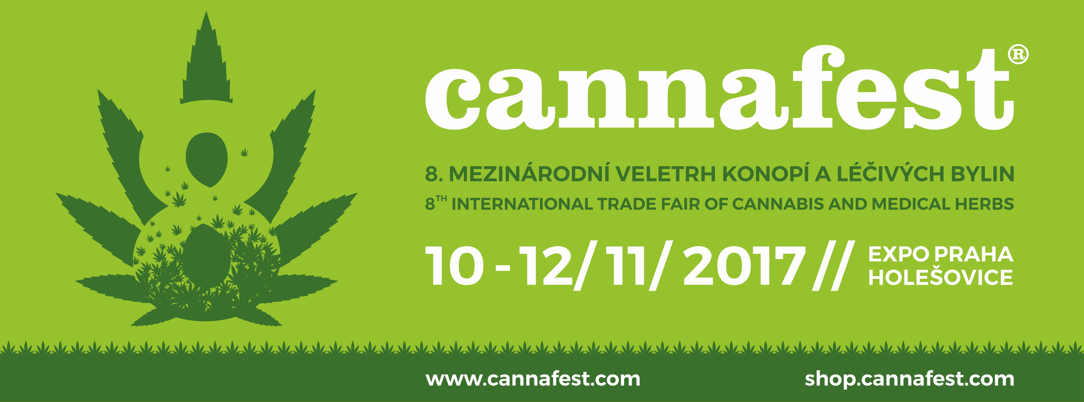 Cannafest 2017,  10.- 12. listopadu