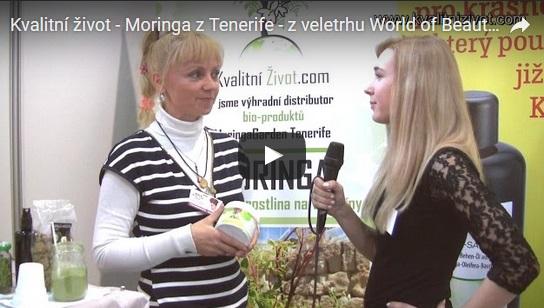 Kvalitní život - Moringa z Tenerife - z veletrhu World of Beauty 2016
