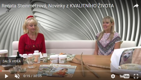Renata Steinmetzová, Novinky z KVALITNÍHO ŽIVOTA