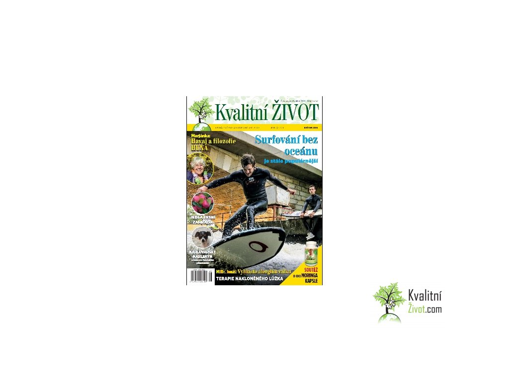Elektronický časopis Kvalitní ŽIVOT 5. číslo KVĚTEN 2016