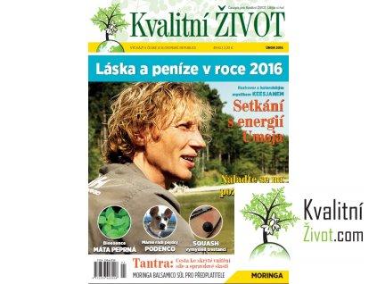 Časopis Kvalitní ŽIVOT  2. číslo ÚNOR 2016